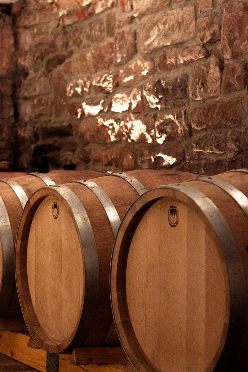 Rotweine Barrique Fass Weingut Kremer